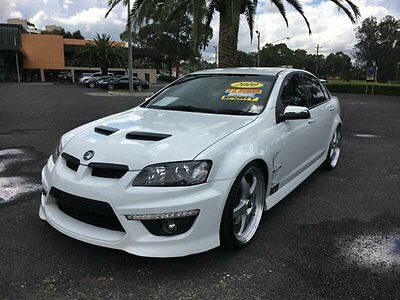 2010 Holden Special Vehicles Clubsport E Series 2 GXP White Automatic A Sedan