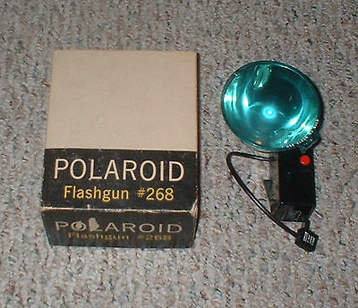 Vintage POLAROID Model 268 Flash Gun Bulb Attachment for Automatic Land Cameras