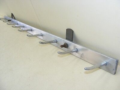 Antique Wardrobe Hangers Wall Coat Hook Rail Dress bar Cult retro