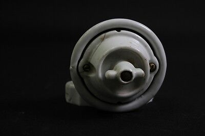 Antiques Old Porcelain Switch 1 Dispatch Light Switch Ap Rotary Switch Art Deco Year-End Bargain Sale