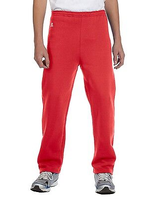 Russell Athletic 596HBB Youth Solid Dri-Power Open-Bottom Pant Sweat Pants