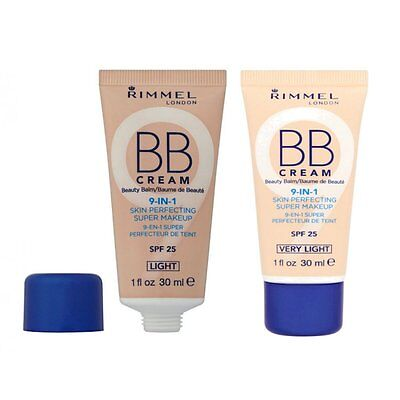 Rimmel BB Cream 9-In-1 Haut Super Make-Up Perfektionieren Verschiedene Farbtone