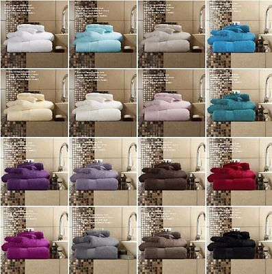 Miami Luxury Towels 600GSM 100% Egyptian Cotton with Extra Softness & Absorbency