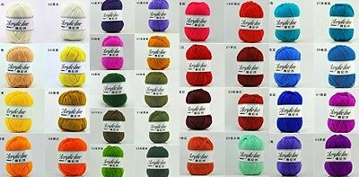 Assorted 61colors 50g knitting wool baby children acrylic crochet yarn knit