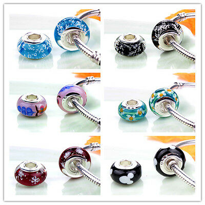 Handmade New Genuine 925 Sterling Silver Charms Bead For Bracelet/Necklace