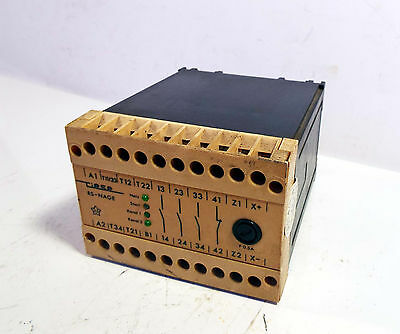 1 Used Riese Electronic Rs-Nage Safety Relay *** Make Offer ***