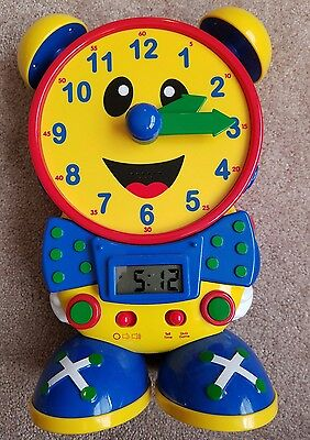 The Learning Journey International Telly the Teaching Time Clock  Tested
