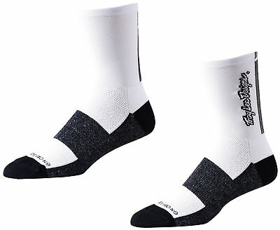 Troy Lee Designs Ace Performance Crew Bike Socks Classic White 2017