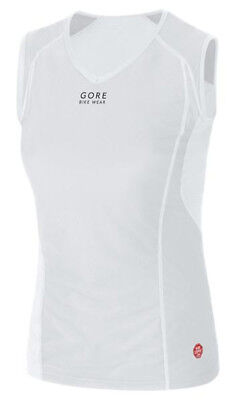 Gore Bike Wear BASE LAYER WINDSTOPPER® LADY Singlet Light Grey/White 2017