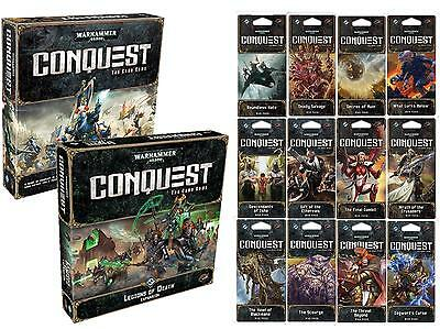 Warhammer 40,000: Conquest LCG ULTIMATE COLLECTION - CORE SET, EXP, 12 WAR PACKS