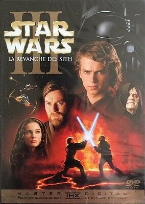 Star Wars III La Revanche DEs Sith - DVD Neuf sous Blister