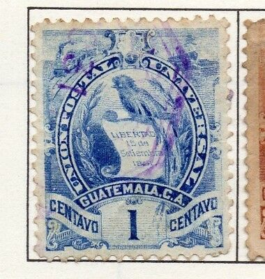 Guatemala 1871-1902 Early Issue Fine Used 1c. 138955