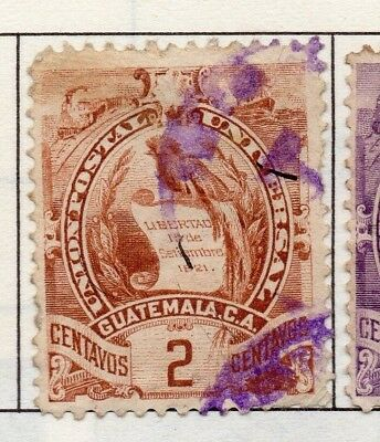 Guatemala 1886-1902 Early Issue Fine Used 2c. 138961