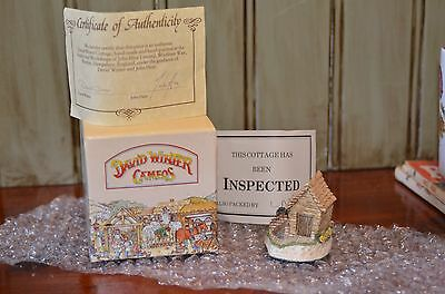 David Winter Cameos The Potting Shed 1991 Mint In Box