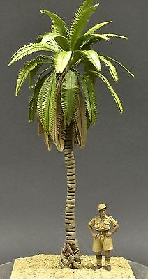 DioDump DD060-6 Palm Tree #6 MEDIUM 21cm 1:48 - 1:35 realistic diorama scenery