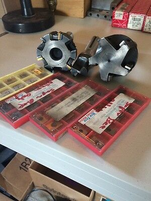 Indexable Milling Cutter Lot Carbide Insert TRI-DEX