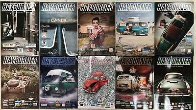 Hayburner Bulk Issue Pack 1-20 With *free Sticker*