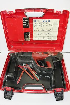 HILTI DX-460 Powder Actuated Nail Gun Tool With Case