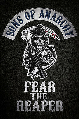 """Sons of Anarchy """"Fear the Reaper"""" Poster  61cmx91cm  New Licensed"""