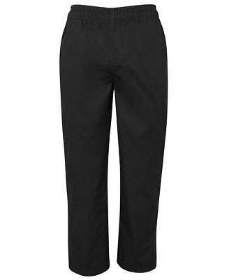 NEW Chefs Elasticated Pants Check Pants JBs Wear 5CCP JB's Check White Black