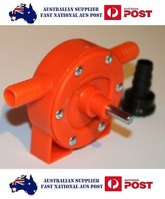 Self Priming Pump, Drill Powered Pump MADE IN ITALY