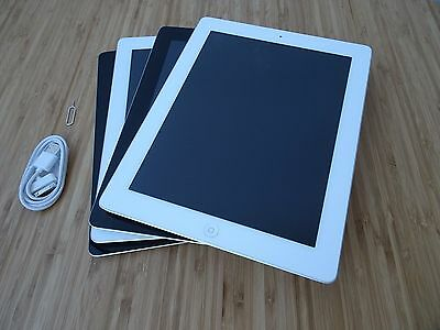 Apple iPad 3 3rd Gen WiFi & WiFi + Cellular 16GB 32GB 64GB BLACK WHITE AU STOCK