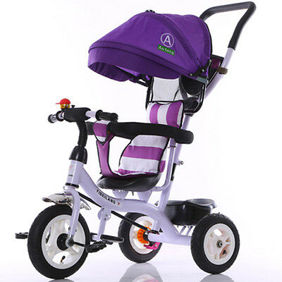 Newly Baby Stroller Kids Tricycle Outdoor Ride Toys Travel System Pram Carriage