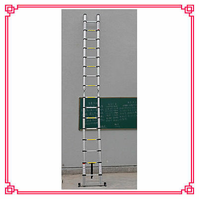 16.5FT Aluminum Multi-Purpose Telescopic Ladder Extension Foldable Stretchable