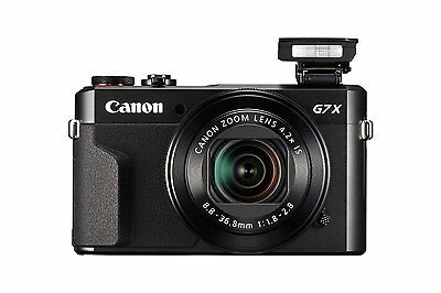 New Black Canon PowerShot G7X  II G7 X Mark II Digital Camera