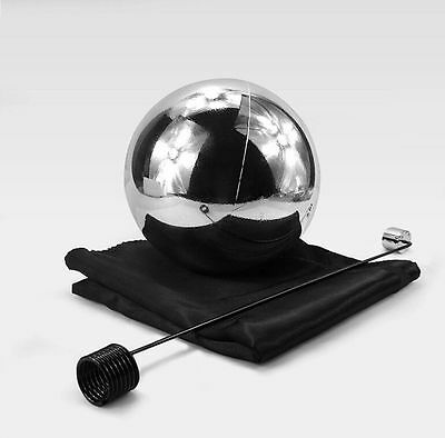 6 inch Silver Zombie Floating Ball with Foulard Stage Floating Magic Tricks Gift
