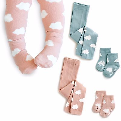 "Vaenait Baby Kids Girls Boy 2Color Anti-slip Socks ""Cloud leggings N Socks"" 0-8T"