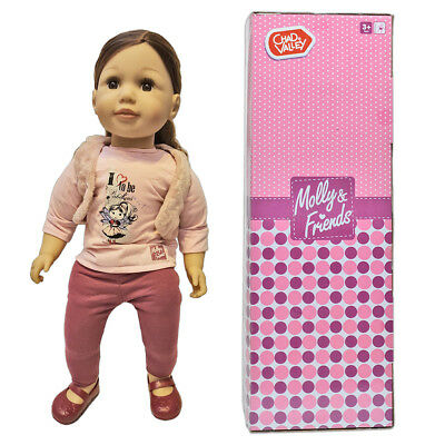 "63cm 25"" Evie Toddler Doll Brunette Hair with Box Chad Valley Molly And Friends"