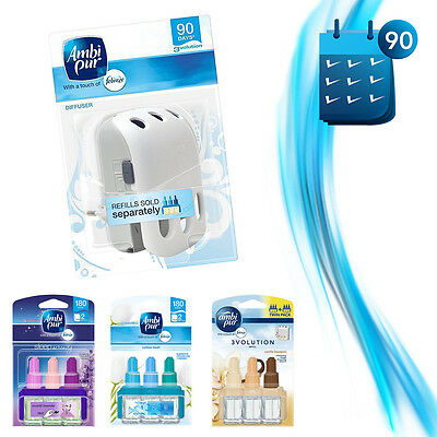 Ambi Pur Diffuser Febreeze Plug In Diffuser 3Volution Air Freshener Odouriser