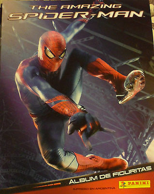 The amazing Spiderman Panini FULL SET OFF 192 STICKERS LOOSE