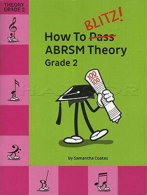 How To Blitz ABRSM Theory Grade 2 Sheet Music Book Tests Exams