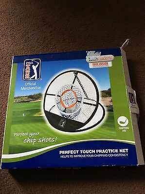 Perfect Touch Practice Net Chipping Golf Net & Training DVD Official PGA TOUR