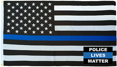 Wholesale Combo 3x5 Police USA Memorial Flag /& Police Lives Matter Blue Hat Cap