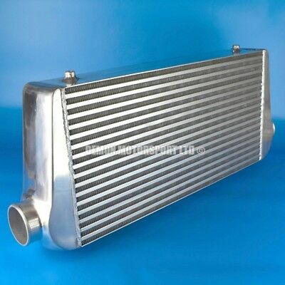 "HUGE Front Mount Alloy Intercooler 600 x 300 x 100mm Core Universal (3"" In/Out)"