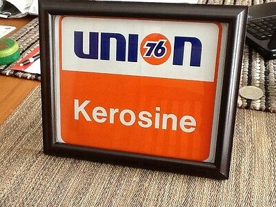 union 76 framed decal