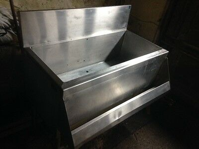 under bar ice bin 3 feet wide with built in soda cold plate nsf approv