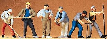 Preiser O Construction Workers 1:43 65331