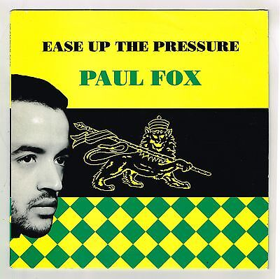 PAUL FOX-ease up the pressure  LP  word sound & power  (hear)  UK reggae roots
