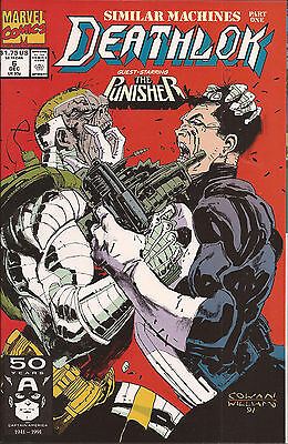 Deathlok #6 Marvel Punisher Silvermane Similar Machines Gregory Wright Cowan VF