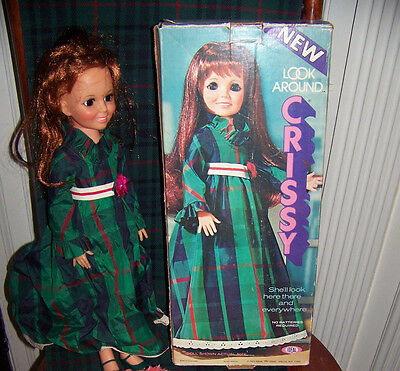 Ideal Look Around Crissy 1972 Doll Clothes and Box & Directions
