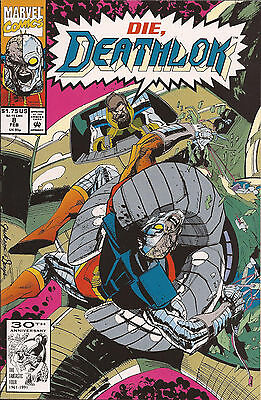 Deathlok #8 Marvel Guardsman Mainframe Gregory Wright Denys Cowan Butch Guice VF