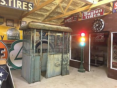 PATINA! AnTiQue OLD VintagE ELEVATOR Enclosure Garden ArT DeCo HOLLISTER-WHITNEY