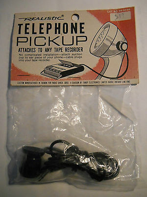 Realistic telephone pickup microphone Catalogue no. 44-533A