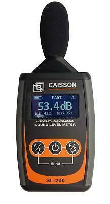 Caisson SL-200 Integrating-Averaging Sound Level dB Meter
