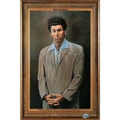The Kramer with Quote Poster 57cm x 86cm  New Licensed