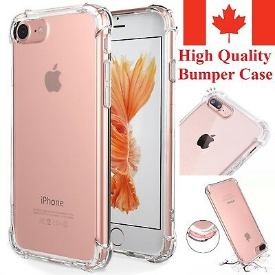 Bumper Case for iPhone 5 SE / iPhone 6 / iPhone 7 iPhone 8 / Plus / X Clear TPU